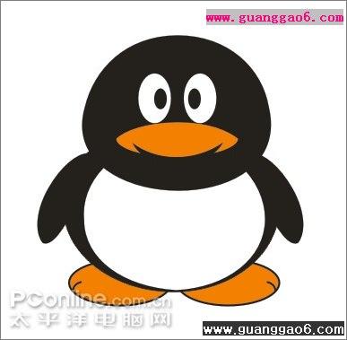 可爱的情侣qq企鹅