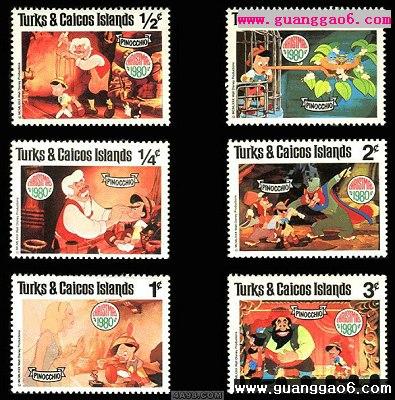 国外动漫题材邮票设计